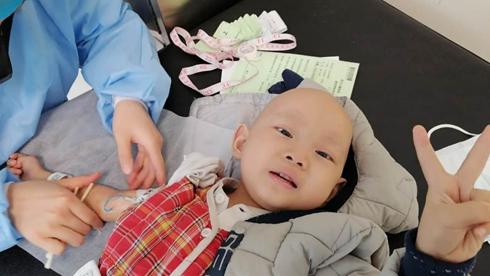 4岁娃勇斗神母瘤